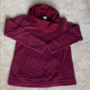 Cool neck sweater
